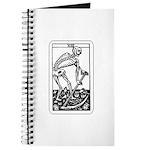 Vintage Death Tarot Card Journal
