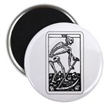 Vintage Death Tarot Card Magnet