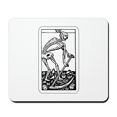Vintage Death Tarot Card Mousepad