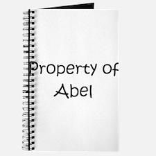 Cute Abel Journal