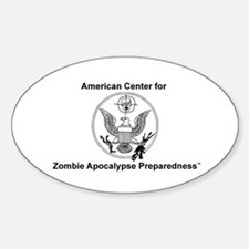 """ACZAP Seal"" Oval Decal"