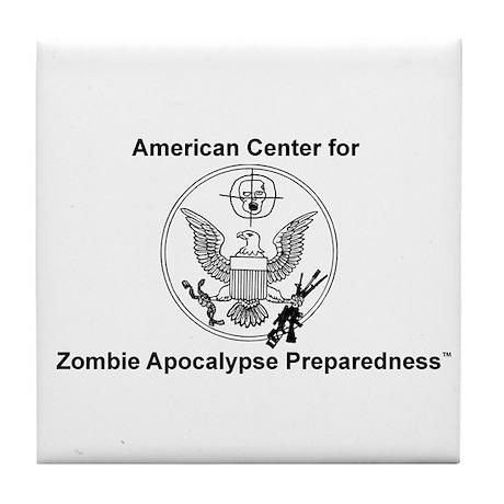 """""""ACZAP Seal"""" Tile Coaster"""