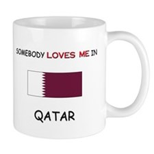 Somebody Loves Me In QATAR Mug