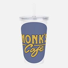 Monks Cafe - as seen o Acrylic Double-wall Tumbler