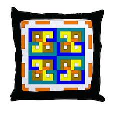 Geometric Box Throw Pillow
