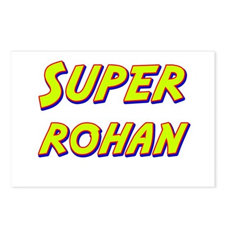 Super rohan Postcards (Package of 8)