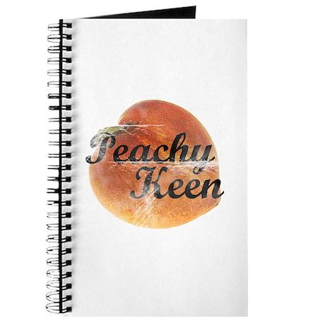Retro Peachy Keen Journal