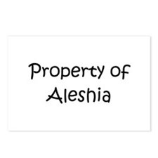 Unique Aleshia Postcards (Package of 8)