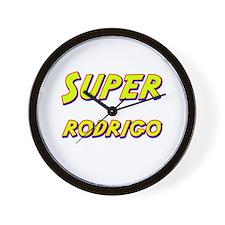 Super rodrigo Wall Clock