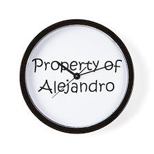 Unique Alejandro Wall Clock