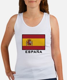 Flag of Spain Women's Tank Top