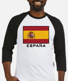 Flag of Spain Baseball Jersey