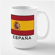 Flag of Spain Large Mug