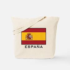 Flag of Spain Tote Bag