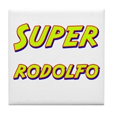 Super rodolfo Tile Coaster