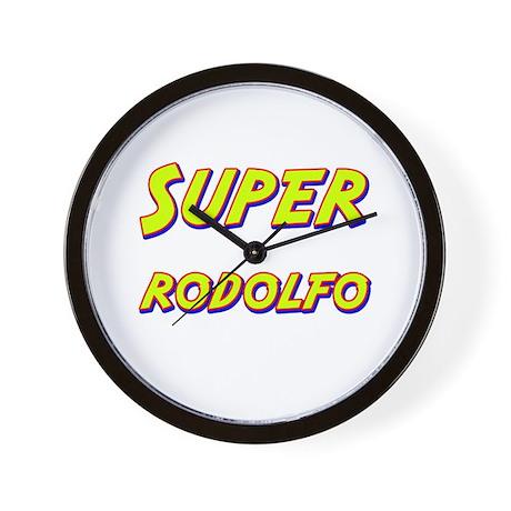 Super rodolfo Wall Clock