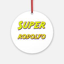 Super rodolfo Ornament (Round)