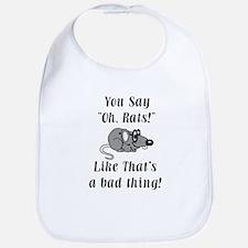 Oh Rats Bib
