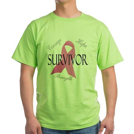 Survivor 1 Green T-Shirt