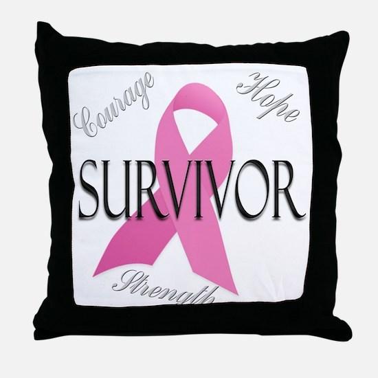 Survivor 1 Throw Pillow