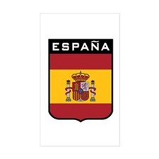 Espana Rectangle Decal