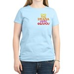 End the Drama Vote Obama Women's Light T-Shirt