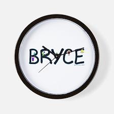 Bryce (Boy) Wall Clock