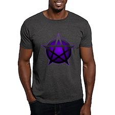 Purple Pentacle Tee (Dark)