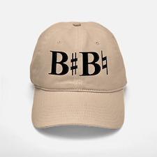 B Sharp B Natural Baseball Baseball Cap