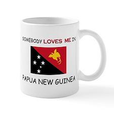 Somebody Loves Me In PAPUA NEW GUINEA Mug