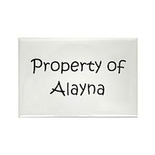Cute Alayna Rectangle Magnet