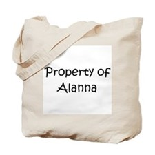 Cute Alanna Tote Bag
