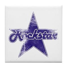 Super Distressed Rockstar Tile Coaster