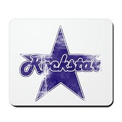 Super Distressed Rockstar Mousepad