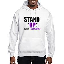 Elder Abuse Stand Up Hoodie