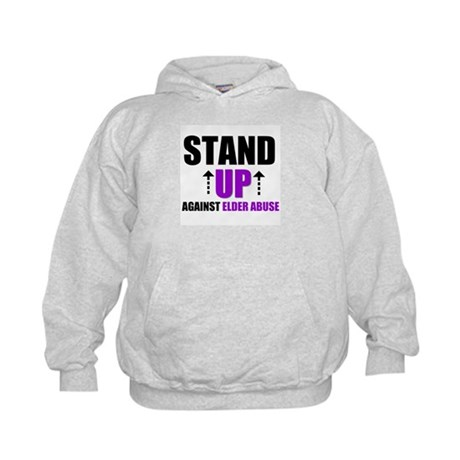 Elder Abuse Stand Up Kids Hoodie