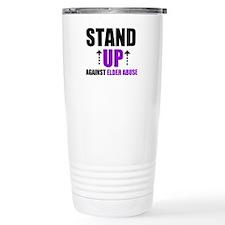 Elder Abuse Stand Up Travel Mug