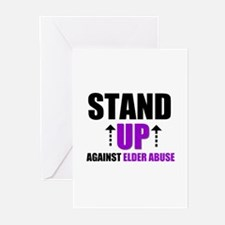Elder Abuse Stand Up Greeting Cards (Pk of 10)