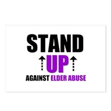 Elder Abuse Stand Up Postcards (Package of 8)