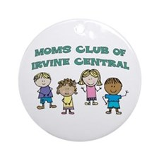 MOMS CLUB OF IRVINE -KIDS Ornament (Round)