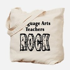 Language Arts Teachers Rock Tote Bag