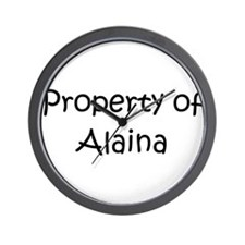 Unique Alaina Wall Clock