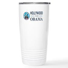 HOLLYWOOD FOR OBAMA Travel Mug