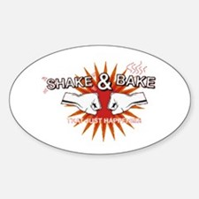 Shake & Bake Oval Decal
