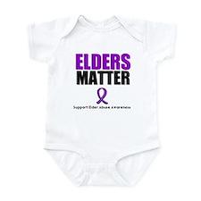 Elders Matter Infant Bodysuit