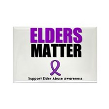 Elders Matter Rectangle Magnet