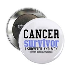 "Cancer Survivor 2.25"" Button"