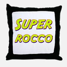 Super rocco Throw Pillow