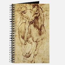 Leonardo da Vinci Horse Rider Journal