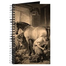 Shoeing the Bay Mare. Journal